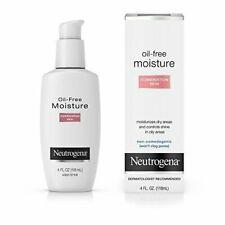Neutrogena Oil-free Moisture Combination Skin, 4 Oz.(3/Pack)
