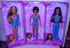 #4699 Celebrity Hasbro Set of 3 Destiny's Child Dolls Beyonce, Kelly, Michelle
