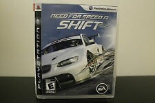 Need for Speed: Shift  (Sony Playstation 3, 2009) *Tested/Complete