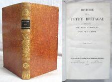 Histoire de la Petite Bretagne / A. M. L. de BUSSY / Édition Perisse Frères 1843