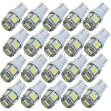 20X T10 194 168 W5W 2825 5 LED 5050 SMD White Super Bright Car Lights Lamp Bulb