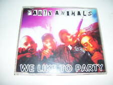 PARTY ANIMALS - WE LIKE TO PARTY cd maxi 1997 MOKUM REC
