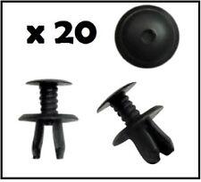 20 x panel recorte Clips Fijaciones sujetador plástico negro para VW Caddy