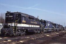 Southern Railway GP30 # 2549 + 3 @ Birmingham, AL  March 1984