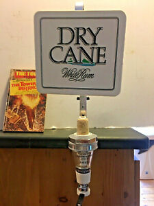 VINTAGE  Dry Cane  Rum SPIRIT OPTIC AND MEASURE Man Cave Home Bar