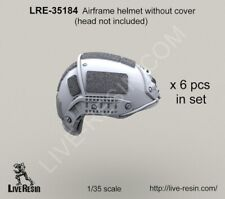 Live Resin 1:35 Airframe Helmet without Helmet Cover - Resin #LRE35184