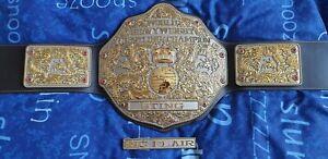 Fandu Duel Plated Big Gold Belt NWA/WCW/WWE with Accessories Sting Ric Flair