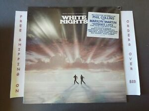 SEALED WHITE NIGHTS ORIGINAL SOUNDTRACK LP PHIL COLLINS LOU REED NILE RODGERS