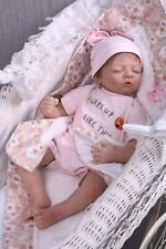 Reborn Baby Doll Vinyl Silicone Dolls Toy 55cm Christmas Gift Toddler Toys 22''
