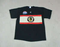 Reebok Chicago Blackhawks Shirt Adult Small Black Red Jonathan Toews Hockey Mens