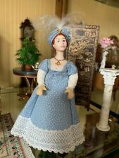Dollhouse Miniature Artisan Doll Artist crafted un-signed 1:12