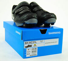 Shimano SH-XC31L Cycling Shoe Mens SPD Mountain Bike Shoes Black SH-XC31 48 12.3