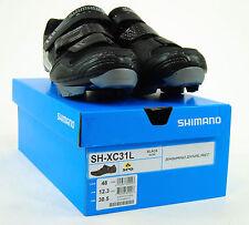 Shimano SH-XC31L Cycling Shoe Mens SPD Mountain Bike Shoes Black SH-XC31 48 12.3