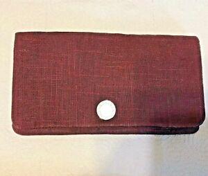 Purple STELLA McCartney Clutch Bag/Purse Magnetic Fastening