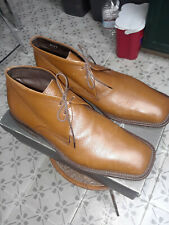 mens via spiga chukka boots 10 1/2 Brown