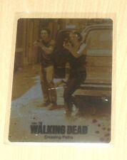 2014 Cryptozoic Walking Dead Season 3 GOLD METAL card #33 Crossing Paths /3