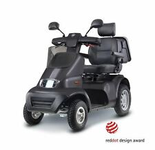 """Afikim AfiScooter S4 4 Wheel Mobility Scooter 9.3 mph 450 lbs. cap """"FREE CANOPY"""""""