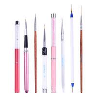 Nail Art UV Gel Liner Brush Drawing Line Painting Flower Pen  5mm-20mm