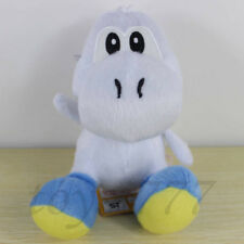 "Super Mario Brothers 3D White Yoshi 6"" Plush Toy Nintendo Game Stuffed Animal"