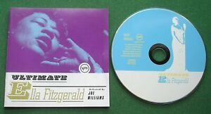 Ultimate Ella Fitzgerald inc How High The Moon / Lullaby Of Birdland + CD