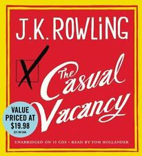 The Casual Vacancy by J. K. Rowling (2012, CD)
