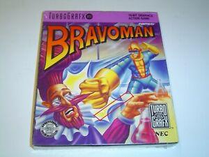 BRAVOMAN NEC TURBO GRAFX -Read Description- *BRAND NEW*