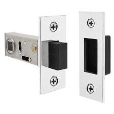 Delf MAGNETIC TUBULAR DOOR LATCH 60mm,Universal Handing,Satin Nickel *Aust Brand