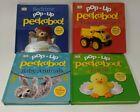 Lot of 4 - Pop - Up Peekaboo! Children's Board Books (2020) Baby Animals/Bedtime