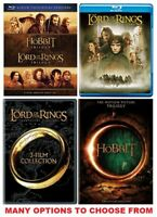 The Lord of the Rings and/or Hobbit Trilogy * Bluray or DVD * Many Options...