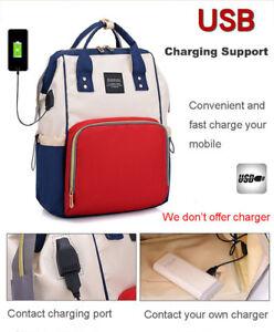 Mummy Maternity Baby Care Diaper Nappy Bag Travel Backpack Desinger Nursing Bags