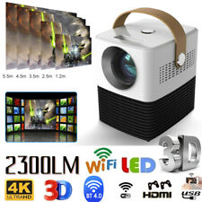 HD1080P Mini LED Projector Wifi Bluetooth Android / Multimedia Home Office HDMI