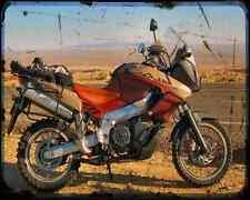Aprilia Etv 1000 Caponord Rally Raid 2 A4 Photo Print Motorbike Vintage Aged