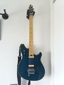 Peavey EVH Wolfgang Special QM Blue Music Man Pickup. 2004