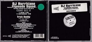 DJ HURRICANE FEATURING FLIPMODE SQUAD - COME GET IT CD SINGLE 1999