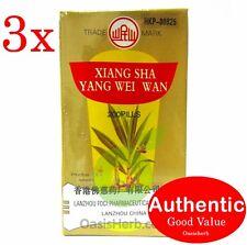 3X Mín Shan marca Xiang Sha Yang Wei Wan - 200 Pastillas (! nuevo!)