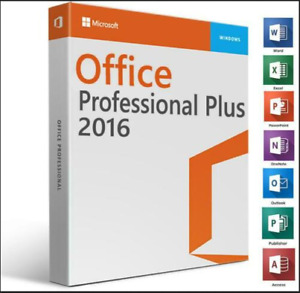 ✔️MICROSOFT®OFFICE 2016 PROFESSIONAL PLUS 🔥 32/64 BIT 🔥LICENSE KEY🔥✔️FOR 5pc