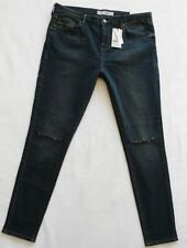 Topshop Indigo, Dark wash Slim, Skinny Jeans for Women