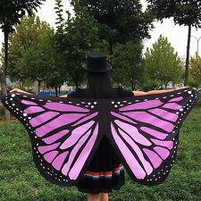 Beautiful Butterfly Wing Cape Fairy Fancy Dress Kids Girls Costume Festival Gift