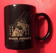 MICHAEL JORDAN CHICAGO BULLS Ceramic Coffee Mug Cup Vtg NBA Basketball