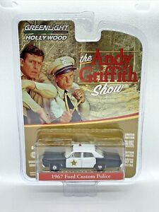 Greenlight Hollywood Series 16 The Andy Griffith Show 1967 Ford Custom Police