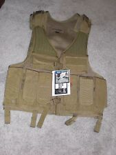 Blackhawk Omega Elite Tactical Vest #1, 30EV03DE Coyote Tan NEW