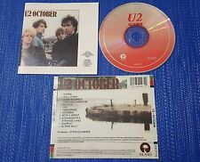 U2 **October** VERY RARE 1991 First Press MEXICAN CD **RARE RED PRINT***