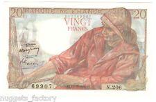 20 Francs Pecheur 10/03/1949 SPL ( 111 )