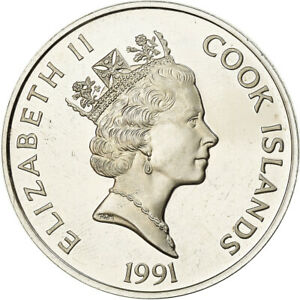 [#783961] Coin, Cook Islands, 50 Dollars, 1991, Franklin Mint, Proof, AU(55-58)