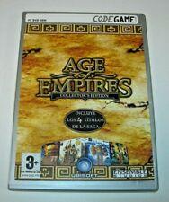 Age of Empires Collector´s Edition PC (Edición española buen estado)