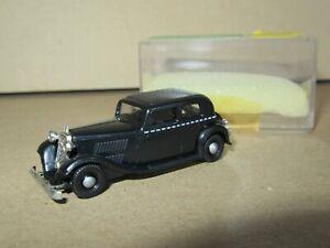 142Q Brekina Allemagne Wanderer W240 Noir Auto Union Ho 1:87 Neuf + Boite