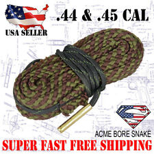 Boresnake  Pistol .44 & .45 Caliber Gun Cleaner Bore Snake Cleaning Kit