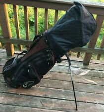 Nice Mens Titleist Complete Golf Club Set & Callaway Bag, + GPS Watch & Extras