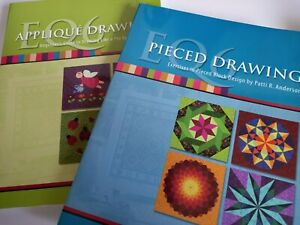 eq6 books - Pieced Drawing & Applique