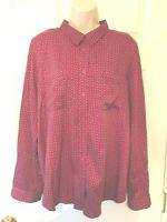Liz Claiborne Women's Blouse Size XL Long Sleeve Button Down Shirt